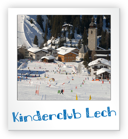 Kinderclub Lech am Arlberg - Snow, Play and Ski for kids from 3 to 5 in Lech.