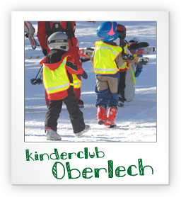 Kinderclub in Oberlech - Snow, Play and Ski for Kids from 2 to 5 years.
